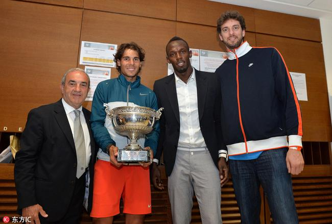 纳达尔法网11冠名利双收 成第三位奖金破亿选手