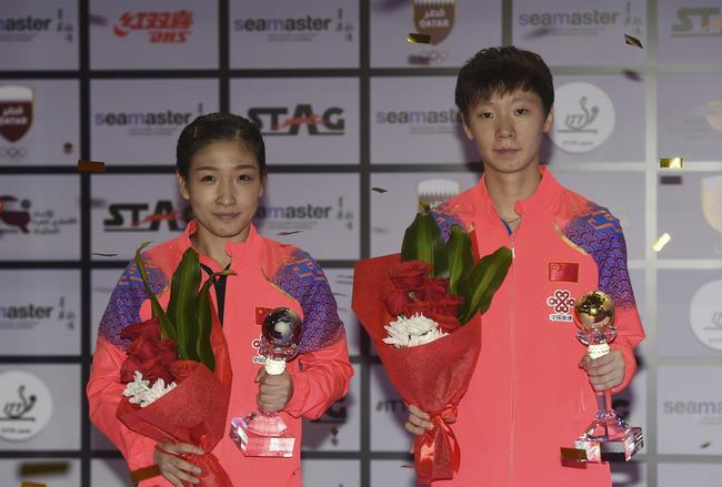 王曼昱为自己竖起大拇指 挑落两奥运冠军霸气外露_亚博