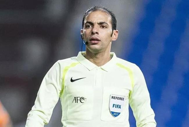 图尔基·胡代尔将执法世初赛首场国足客战马尔医生的比赛