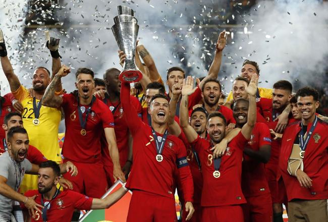 欧国联最佳阵:C罗最高分领衔 葡萄牙5将入围