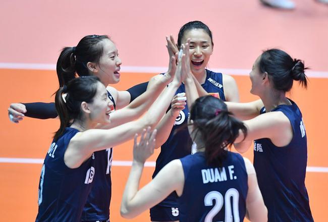 亚锦赛半决赛中国女排1-3泰国