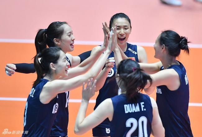 2019女排亚锦赛铜牌战 中国女排0-3东道主韩国