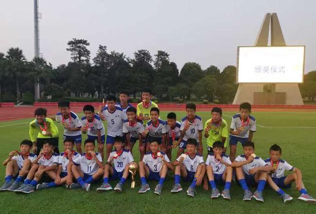 鲁能足校U13红队勇夺2019赛季青超联赛U13组冠军