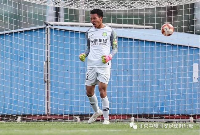 国安U19门将马昆越:场上学习杨智 场下学习侯森