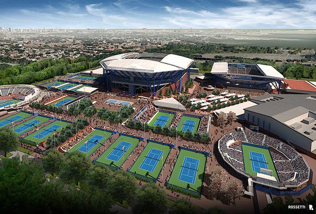 美网球场改建方舱医院 知名体育场馆成抗疫阵地