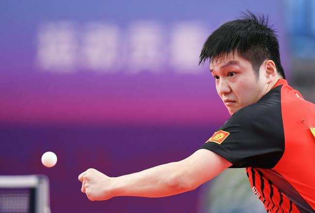 樊振东:能打进决赛的对手都很强 没有绝对的优势