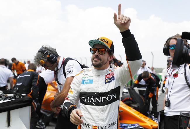 两届F1世界冠军阿隆索