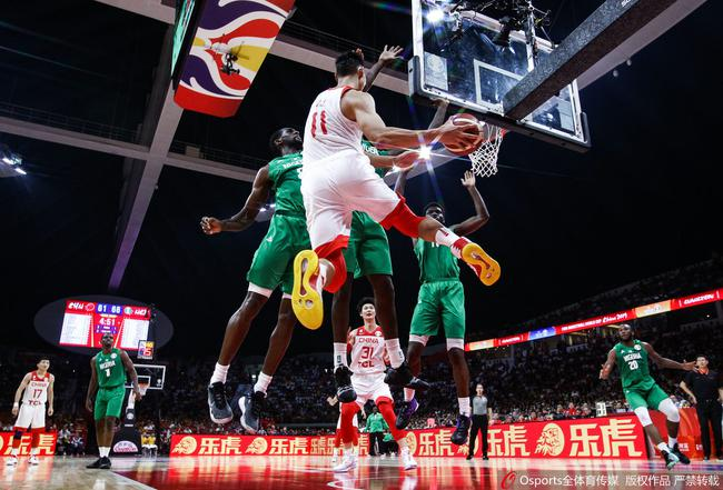 中国男篮迈向世界的步伐不会修整