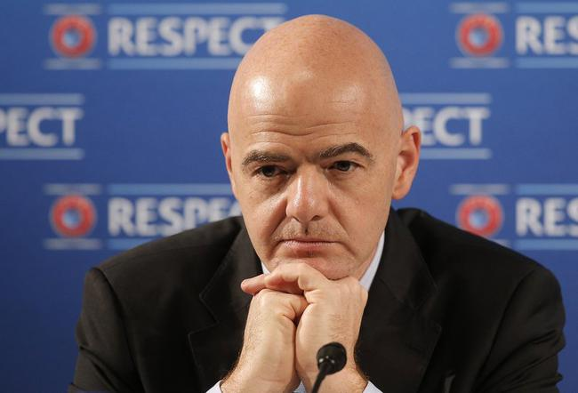 国际足联主席因凡蒂诺