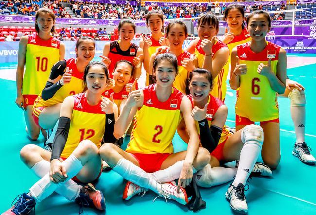 女排世青赛中国3-0美国获第七名 日本意大利争冠