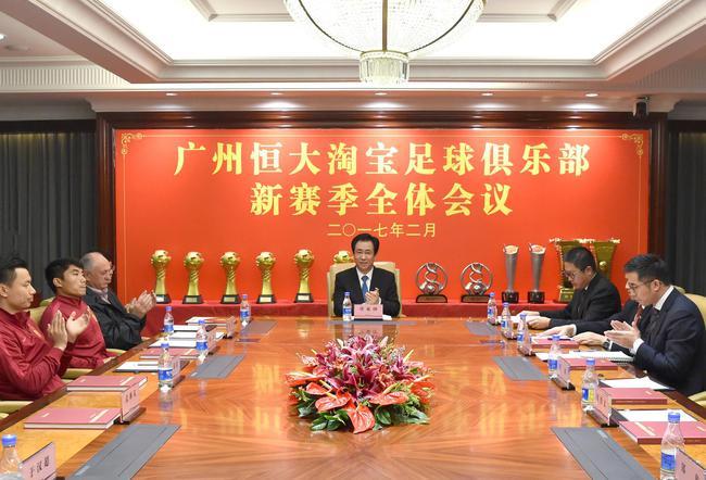 广州队正式迎来全华班 推迟一年实现许老板目标