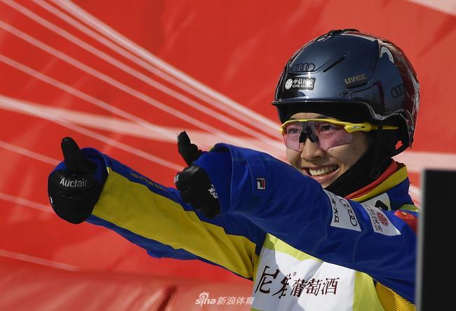 徐梦桃获得5个世界杯总决赛冠军