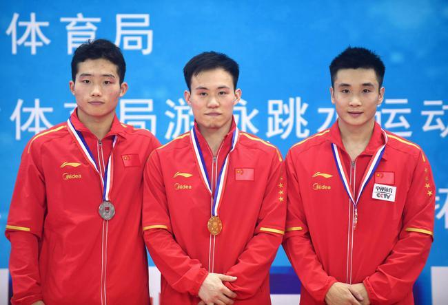 冠军赛谢思埸男子3米板强势夺冠 109C得超高分