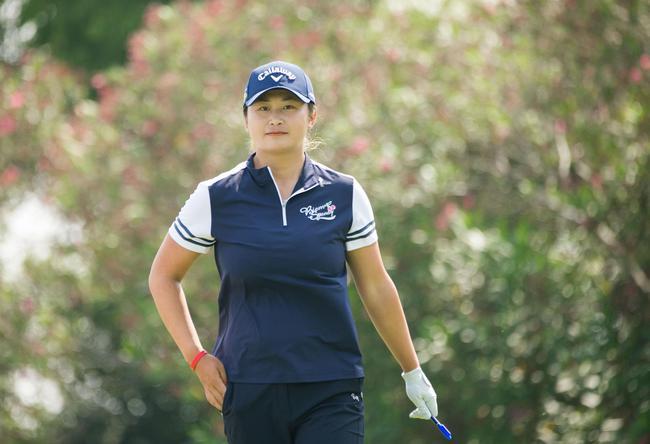 刘艳从美国女子公开赛赛场赶来 张家港双山望反弹