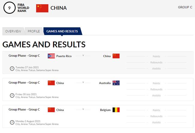 中国女篮东京奥运赛程出炉:7月27日首战波多黎各!