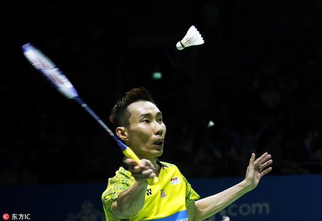 李宗伟曾4次夺得男单冠军