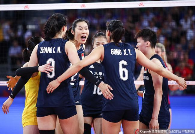 世联中国女排0-3不敌美国止步9连胜 2胜1负江门站夺冠
