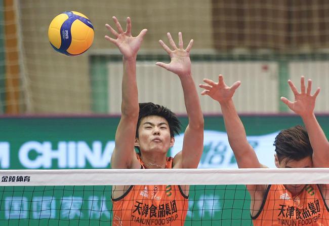 2020年男排联赛四强出炉 天津与广东争夺第九名