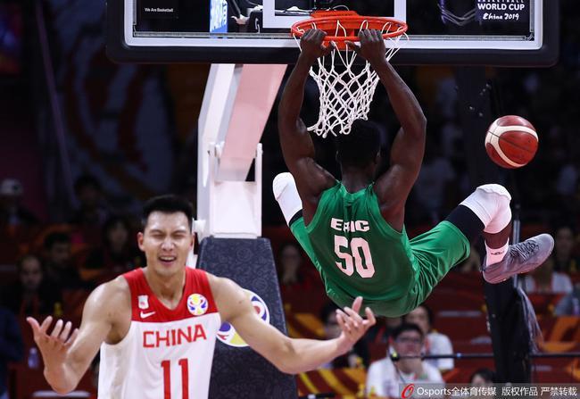 中国男篮想在落选赛突围希望渺茫