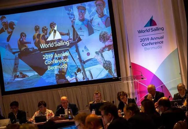 2019世界帆船聯合會(世界帆聯)年會在百慕大舉行