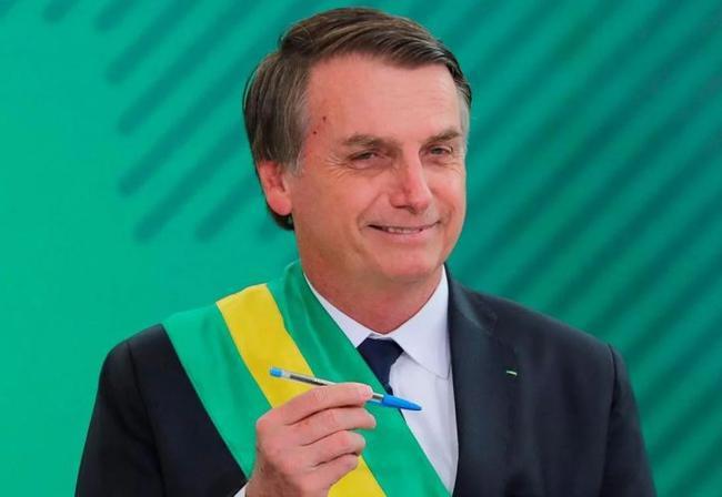 巴西总统雅伊尔-布尔索纳罗