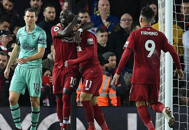 利物浦迎战阿森纳