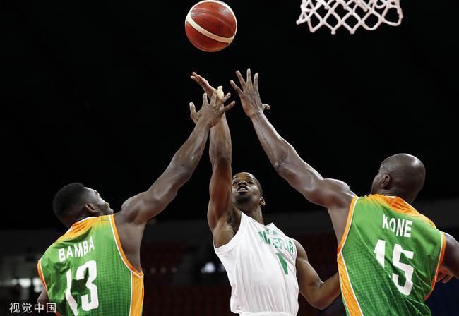 奥科吉失常9投仅1中 排位赛尼日利亚大胜过关