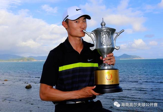 2014年海北公然赛冠军李昊桐