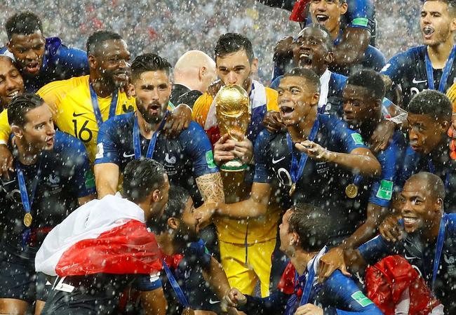 2018四肖四码期期准世界杯-博格巴+姆巴佩破门 法国4-2克罗地亚夺冠