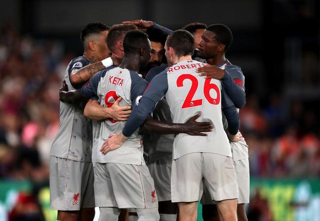 英超-萨拉赫造点球+造红牌+助攻 利物浦2-0连胜
