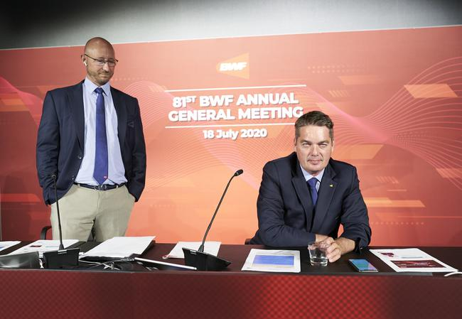 世界羽联综合管理能力世界第3 羽协主席非常满意