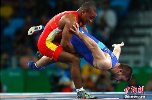摔跤是俄罗斯的上风项现在