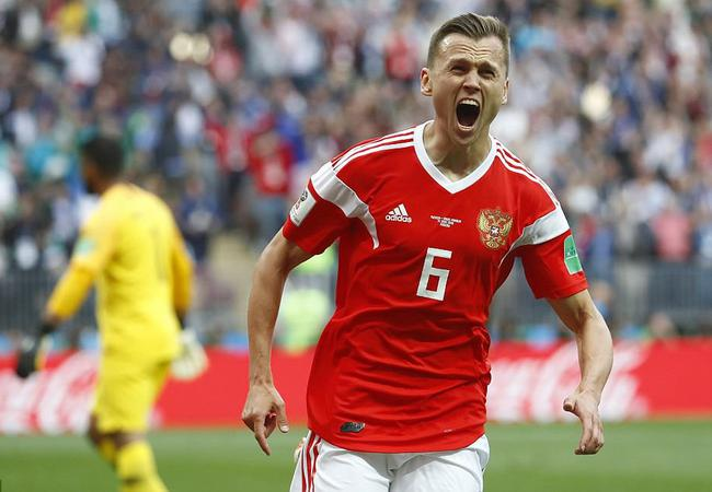 世界杯揭幕战-俄罗斯5-0沙特