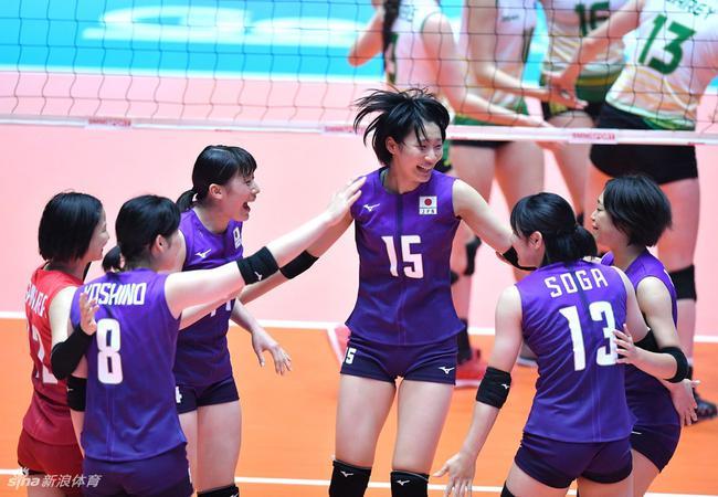 日本女排3-0澳大年夜利亚