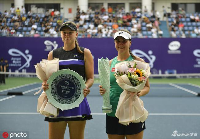 瑞典姑娘打破中国选手垄断 江西赛夺职业生涯首冠