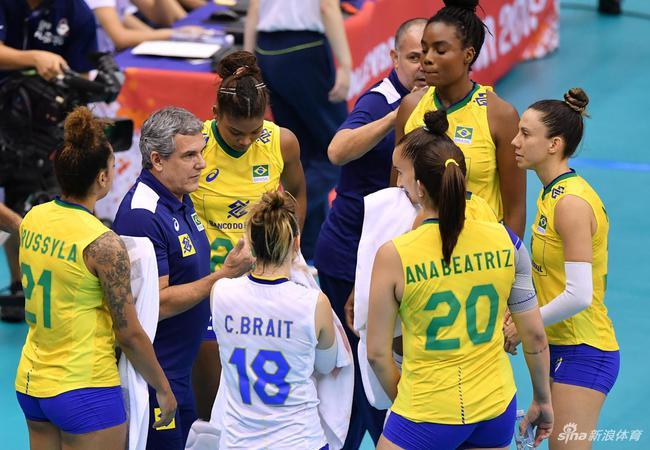 吉马良斯和巴西女排