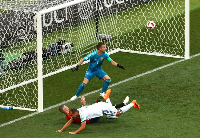伊格纳舍维奇成为世界杯最年长乌龙进球者