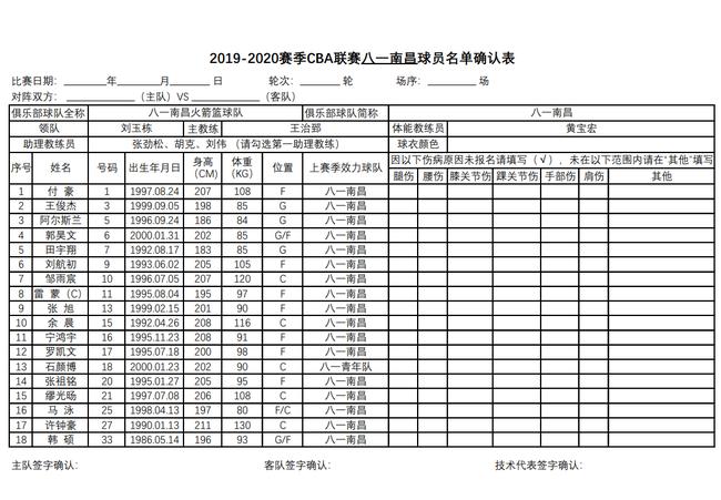 辽篮等12支球队全华班出战复赛 北京队单外援