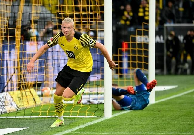 哈兰德本赛季11球并列首位 48场德甲47球史上最快