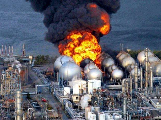 2011年,福岛第一核电站发生爆炸(资料图)