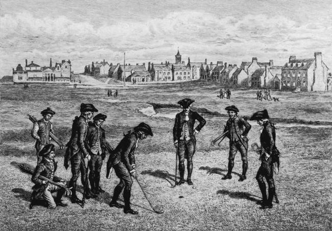 1754年的圣安德鲁斯球场