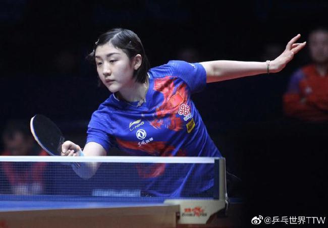 陈梦:能感受到伊藤的心理波动 她很渴望赢下比赛