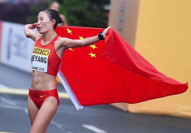 切阳什姐展望东京奥运力争金牌画肖像画感谢恩师