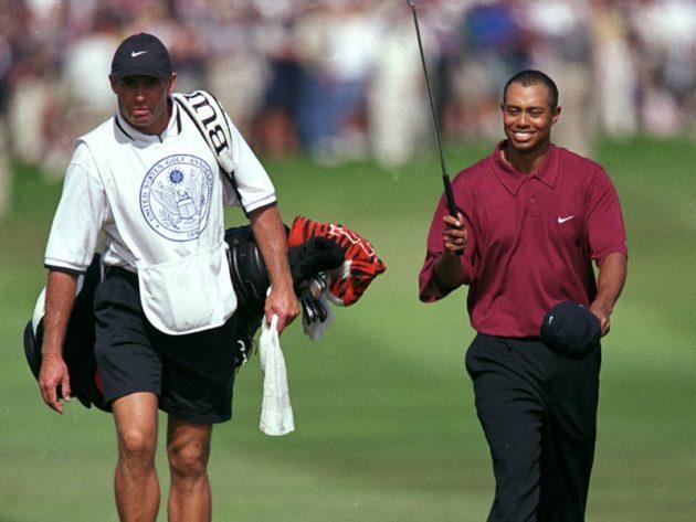 伍兹在2000年美国公开赛获得15杆大胜