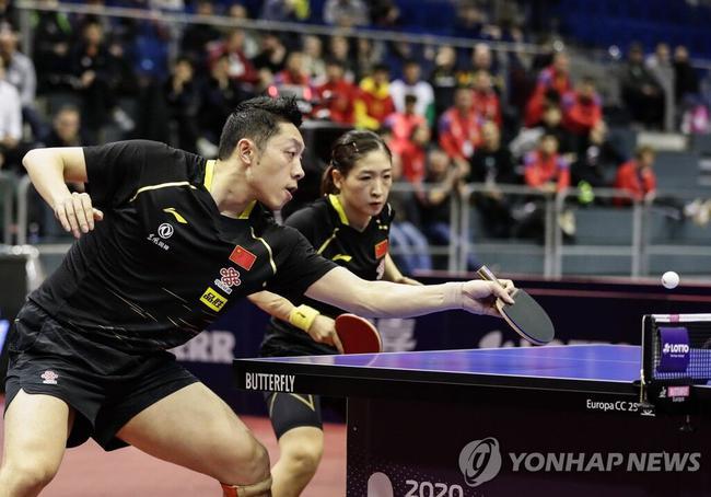 国乒将出征世乒赛