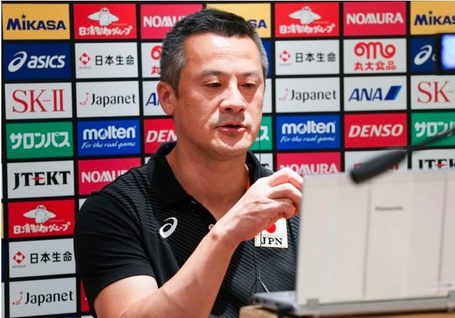 日本男排主帅中垣内祐一离任 曾带队获世界杯第4
