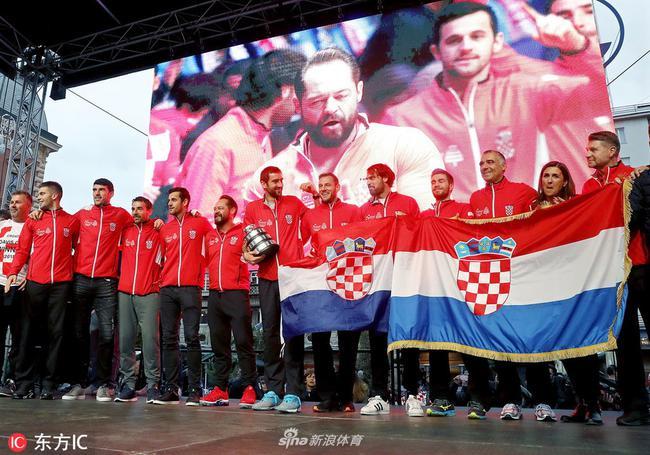 2018戴维斯杯冠军克罗地亚