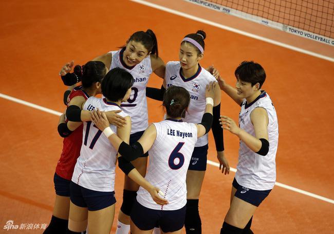 女排世界杯中国队战韩国平稳发挥即可夺开门红