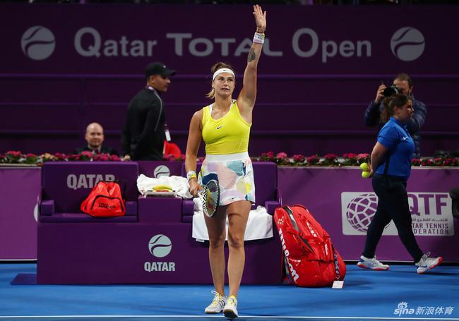 白俄猛女欣喜首次参赛就进决赛 将和科维托娃争冠