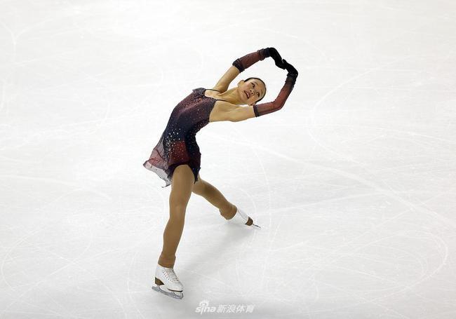 花样滑冰大奖赛美国站 归化小花林姗首秀列第六